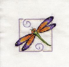 free cross stitch patterns of dragonflies - Google Search
