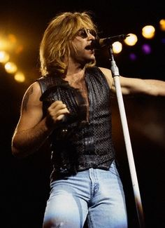 Never get enough. Jon Bon Jovi.  Holy crap!!!! (Wiping the drool from chin...)
