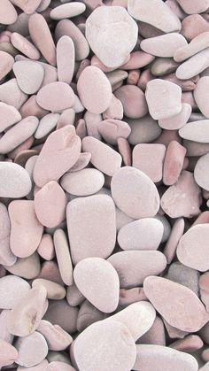 Pink, White & Grey Rock Stones