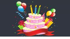 The Best Clipart Birthday Cake Happy Birthday Template, Happy Birthday Text, Happy Birthday Cake Images, Happy Birthday Greeting Card, Happy Birthday Wishes, Free Birthday, Birthday Cake Clip Art, Colorful Birthday Cake, Cute Birthday Cakes