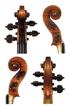 """Antonio Stradivari """"IL TOSCANO"""" Cremona, 1690 Carlo Vettori Maestro Liutaio - Magazine Arte Liutaria"""