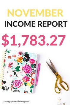 This November income report is pulling the curtains back on how to make money…