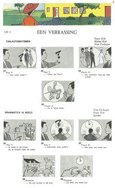 Audiovisuele Methode Nederlands / Les 5 : EEN VERRASSING (4) - taalautomatismen + grammatica in beeld
