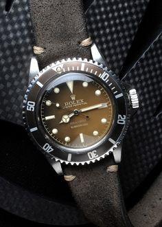 Rolex Submariner 5513 Tropical Dial No-Date