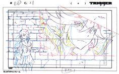....The Magic of Animation — artbooksnat:Kill la Kill (キルラキル) Original...