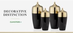 Decorative Distinction | Shop canisters