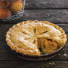 If you've been craving fresh peaches, this Old-Fashioned Peach Pie Recipe won't let you down.data-pin-do=