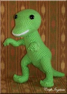 Jurassic World Amigurumi : 1000+ images about crochet only free, dragon and dino on ...