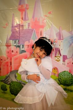 Pretty Princess- Little Girl's 4th birthday party