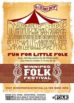 Winnipeg Folk Festival - Complete Brand Design