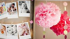 first baby girl birthday party decoration - Bing Images