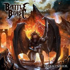 ALBUM REVIEW: BATTLE BEAST – UNHOLY SAVIOR by Victória Oliveira