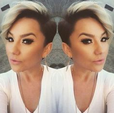 25 Short Hairstyles with Shaved Sides Short Hairtyle with Shaved Sides, Long Pixie Kardashian 30 One Side Shaved Hairstyles, Straight Hairstyles, Girl Hairstyles, Long Pixie Haircuts, Hairstyles 2018, Undercut Hairstyles, Girl Short Hair, Short Hair Cuts, Pixie Cuts
