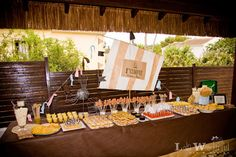 Buffet. Fiesta de Cumpleaños Piratas y Sirenas