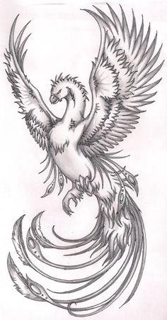 Image from http://fc02.deviantart.net/fs40/i/2009/004/9/b/Phoenix_2_shaded_by_terminatress.jpg.