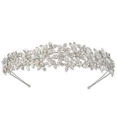 EVER FAITH® Austrian Crystal Wedding Flower Cluster Hair Band