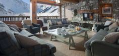 Chalet Le Chardon in Val d'isere - afternoon tea anyone?