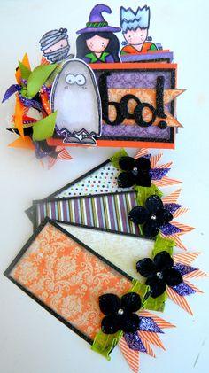 toilet paper books | BOO Halloween Toilet Paper Roll MINI Album by ... | Halloween books