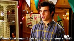"""He's kinky in the best way possible. 