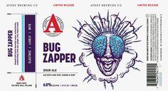 News 19, Bug Zapper, Beer Labels, Best Beer, Brewing Co, Brewery, Bugs, Ale, Beetles