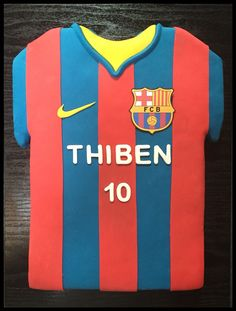 FC Barcelona cake Page Facebook Chtefy's Cakes & Co