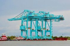 Gallery: JAXPORT Cranes Travelling to Talleyrand Marine Terminal