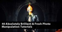 40 Absolutely Brilliant & Fresh Photo Manipulation Tutorials Photo