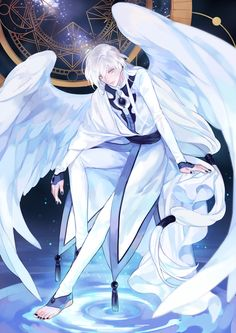 Tags: Anime, Pixiv Id Cardcaptor Sakura, Yue (Cardcaptor Sakura), Feather Wings, Black Nails Cardcaptor Sakura, Yue Sakura, Anime Angel, Anime Kunst, Anime Art, Sakura Card Captors, Xxxholic, Handsome Anime Guys, Fanarts Anime