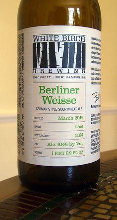White Birch Brewing Berliner Weisse by walknboston, via Flickr
