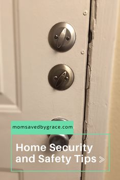 Home Security and Safety Tips - Mom Saved By Grace Wireless Security Cameras, Wireless Home Security Systems, Home Security Tips, Safety And Security, Fire Safety Tips, Water Safety, Smart Door Locks, Hiding Spots, Design Your Dream House
