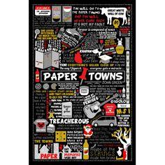 Paper Towns collage poster - Yashmin Rahman