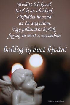Újévi köszöntő, angyal Happy New Year, Christmas, Xmas, Navidad, Noel, Natal, Happy New Year Wishes, Kerst