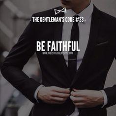 The Gentleman's Code #33