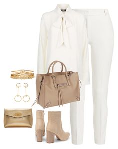 """Untitled #4566"" by magsmccray on Polyvore featuring Joseph, Balenciaga, Treasure & Bond, Chloé and Mulberry"