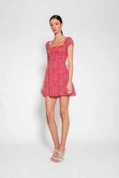 Sienna Dress Print – Lulu & Rose Rose Dress, Bodice, Most Beautiful, Label, Floral Prints, Women Wear, Feminine, Formal Dresses, Shop