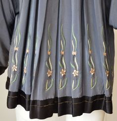 1920s Babani Silk Kimono Vest | From a collection of rare vintage blouses at http://www.1stdibs.com/fashion/clothing/blouses/