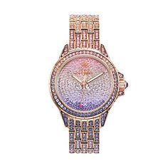 Juicy Couture Stella Bling Rose Gold Tone Stainless Steel Women's Watch
