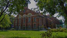 """Budynek Towarzystwa Gimnastycznego """"Sokół""""  rok budowy 1896."""