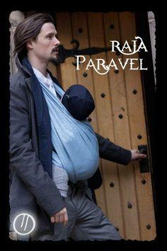 Raja Paravel baby wrap