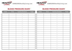 High Blood Pressure  Blood Chart And Planners