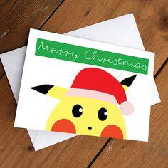 Pikachu Xmas Edition by CherryOnTopDsgns on Etsy