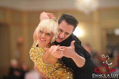 Adriana Bezmenova and Georgi Kanev dancing the Samba Roll