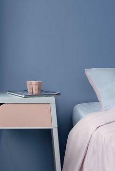 Repeindre ses murs en bleu pour passer une douce nuit