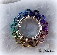 This is a full-color, step-by-step tutorial for the Kinetics series of chain maille weaves - all original designs by Karen Snyder of O. Sebastian Chainmaille Creations. Ring sizes, aspect ratios and step-by-step instructions are included for all three