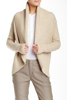 VINCE. Circle Wool Blend Cardigan