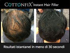 Cottonfix per il diradamento dei capelli