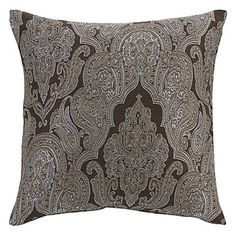 """18"""" Squard Euro Flower Jacquard  Polyester Decorative Pillow Cover – AUD $ 23.60"""