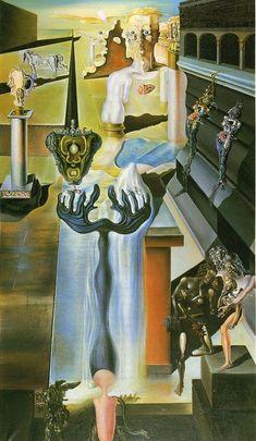 Salvador Dali - The Invisible, 1929
