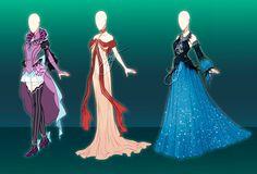 (Open) Outfit design adoptables - Auction 12 by fantazyme.deviantart.com on @DeviantArt
