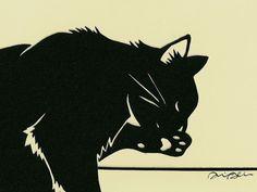 cat papercut